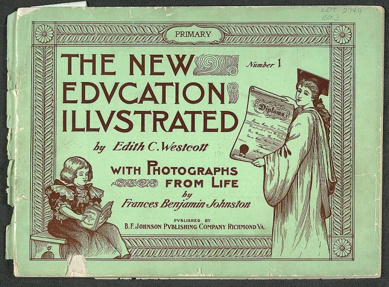 Cover of The new education illustrated