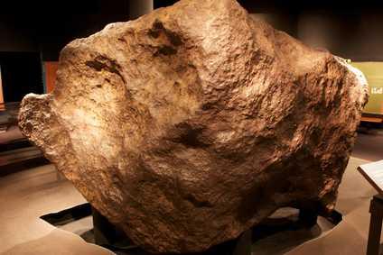 super huge meteorite