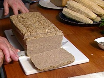 The rare sight of a scrapple harvest in action