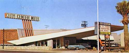 a googie motel
