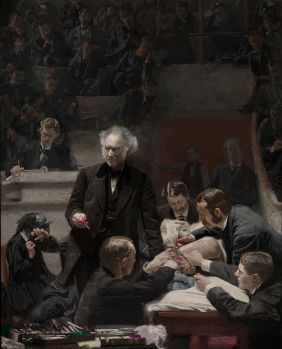 The Gross Clinic, an 1875 painting of surgery