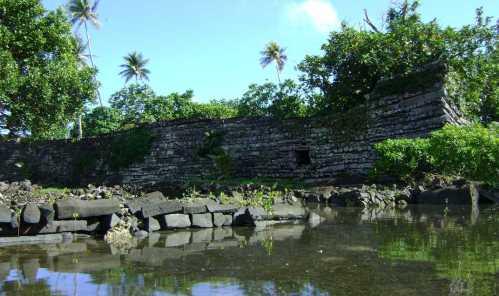 Nan Madol wall