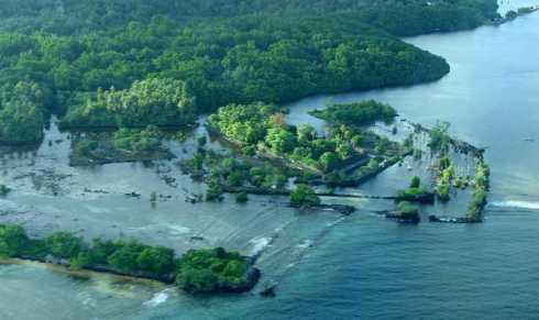 Nan Madol from above