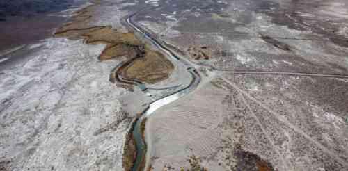 Owens Valley, sans water